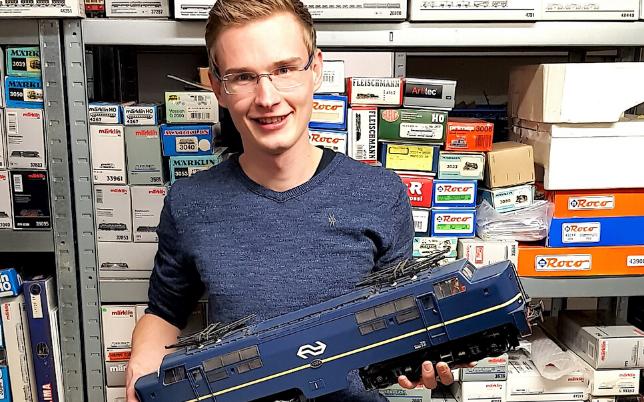 Maarten Hamer eigenaar modelwinkeltrein.nl oudstudent minor digital marketing