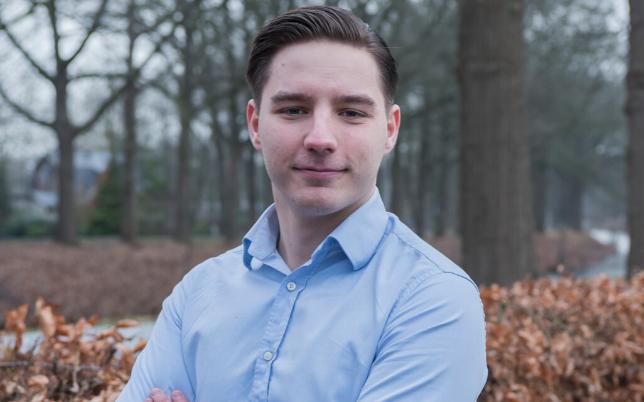 Marco Koes eigenaar Shaversclub oud student minor digital marketing