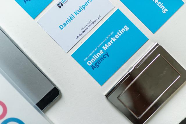 Visitekaartjes Online Markting Agency