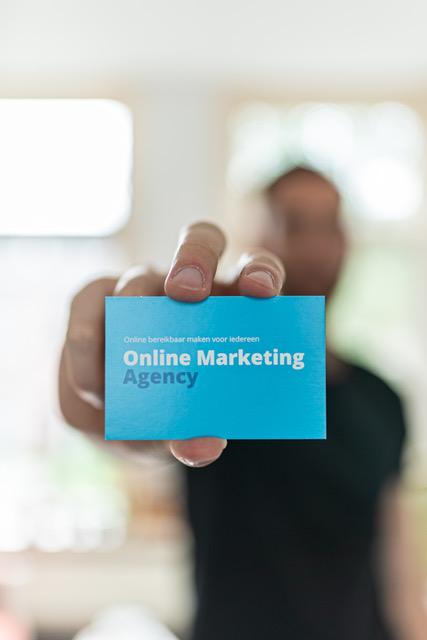 Visitekaarte Online Marketing Agency
